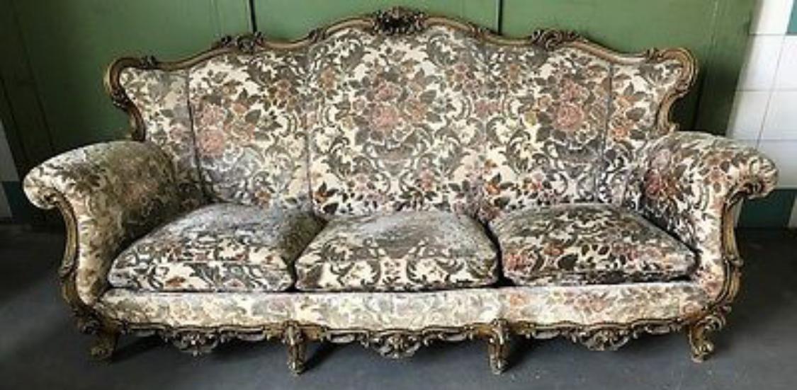Divano barocco vintage barbara maldini decorazione d for Divano barocco