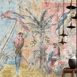 carta da parati wallcovering wallpaper interiordesigner interior design tappezzeria rivestimento pareti muri dipinti