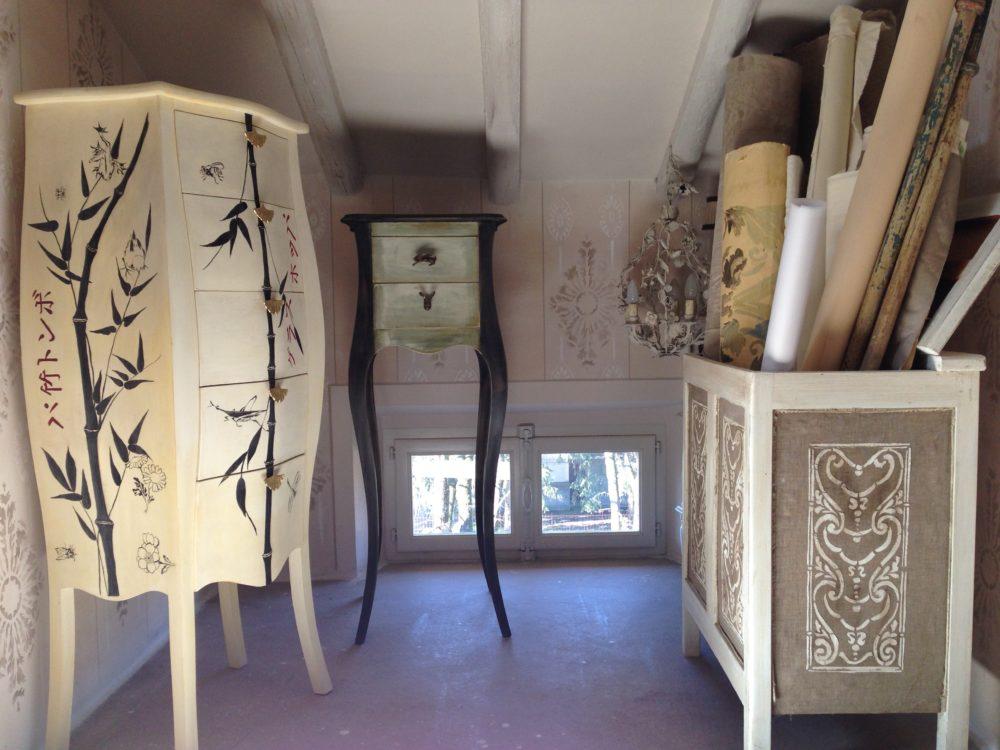 Decorati e assemblati barbara maldini decorazione d for Corsi arredatore d interni