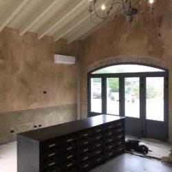 pareti delabre, effetto delavato, muri vecchi, delabre, pitture decorative