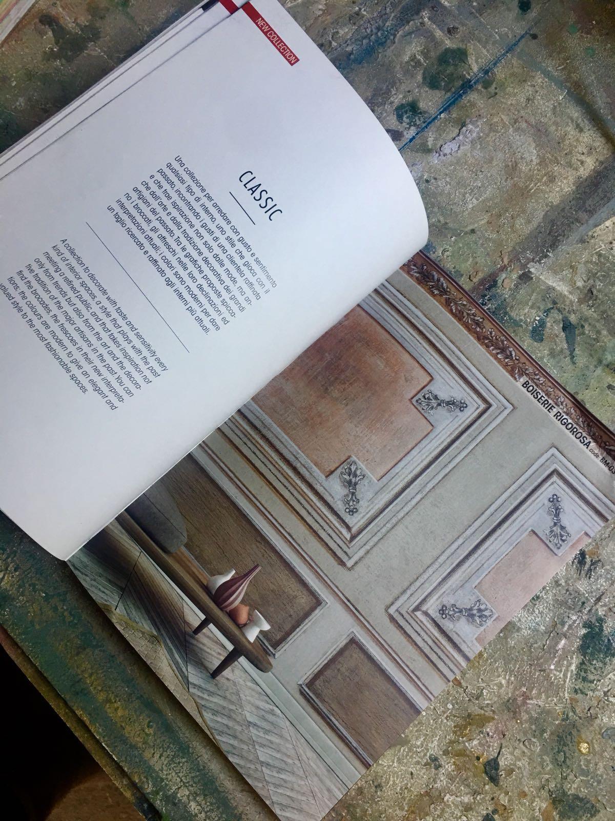 Pannelli decorativi e carte da parati barbara maldini for Corsi per arredatore d interni