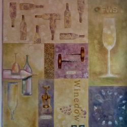 Muro_dipinto_sala_degustazione_barbara_maldini_parma