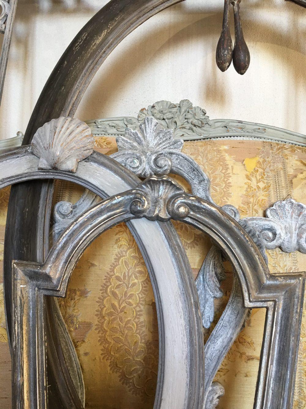 Cornice in gesso intarsiato venduta barbara maldini for Corsi arredatore d interni