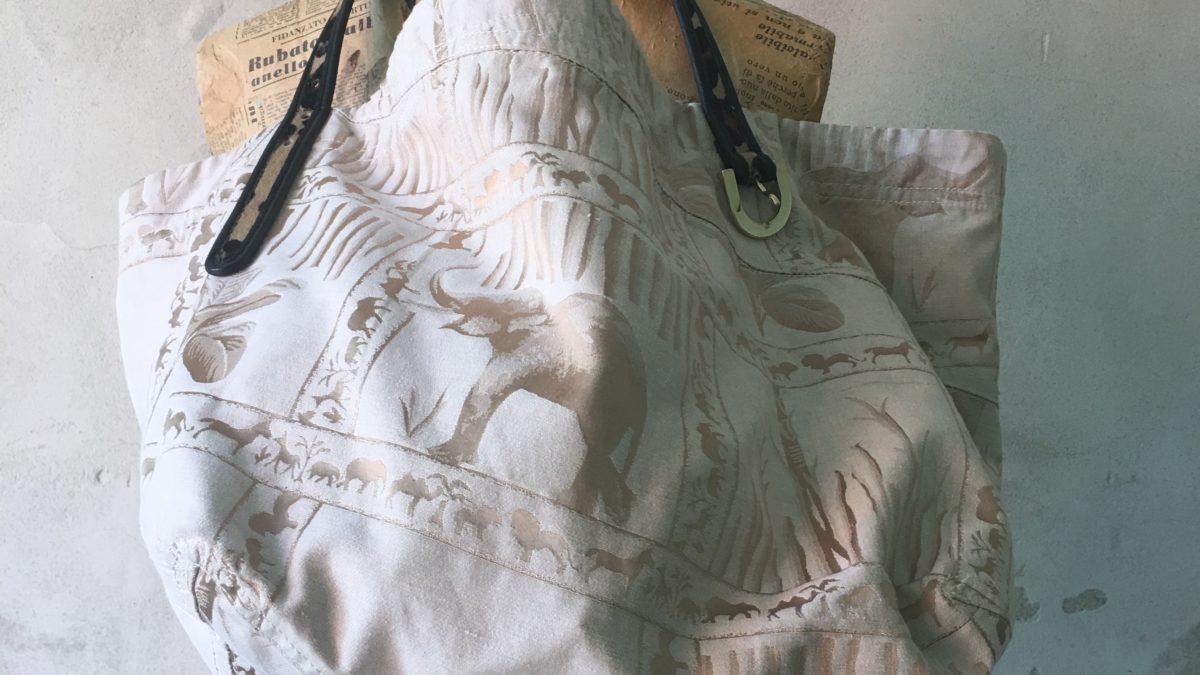 Borsa in raso di seta animalier u2013 barbara maldini decorazione d