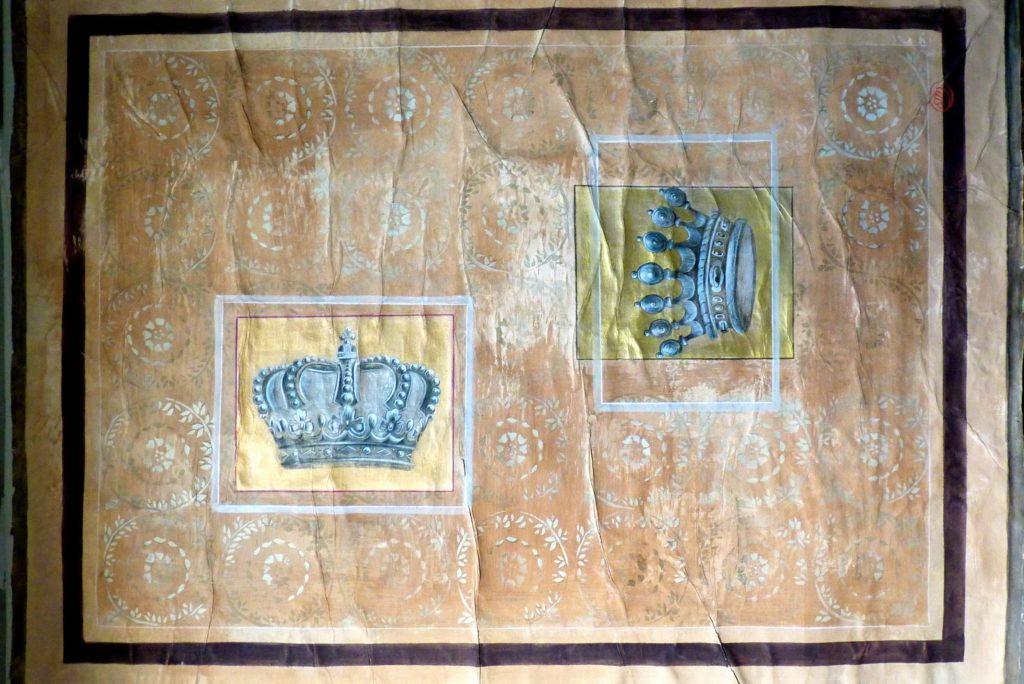 Pannello decorativo con corone barbara maldini - Pannello decorativo ...