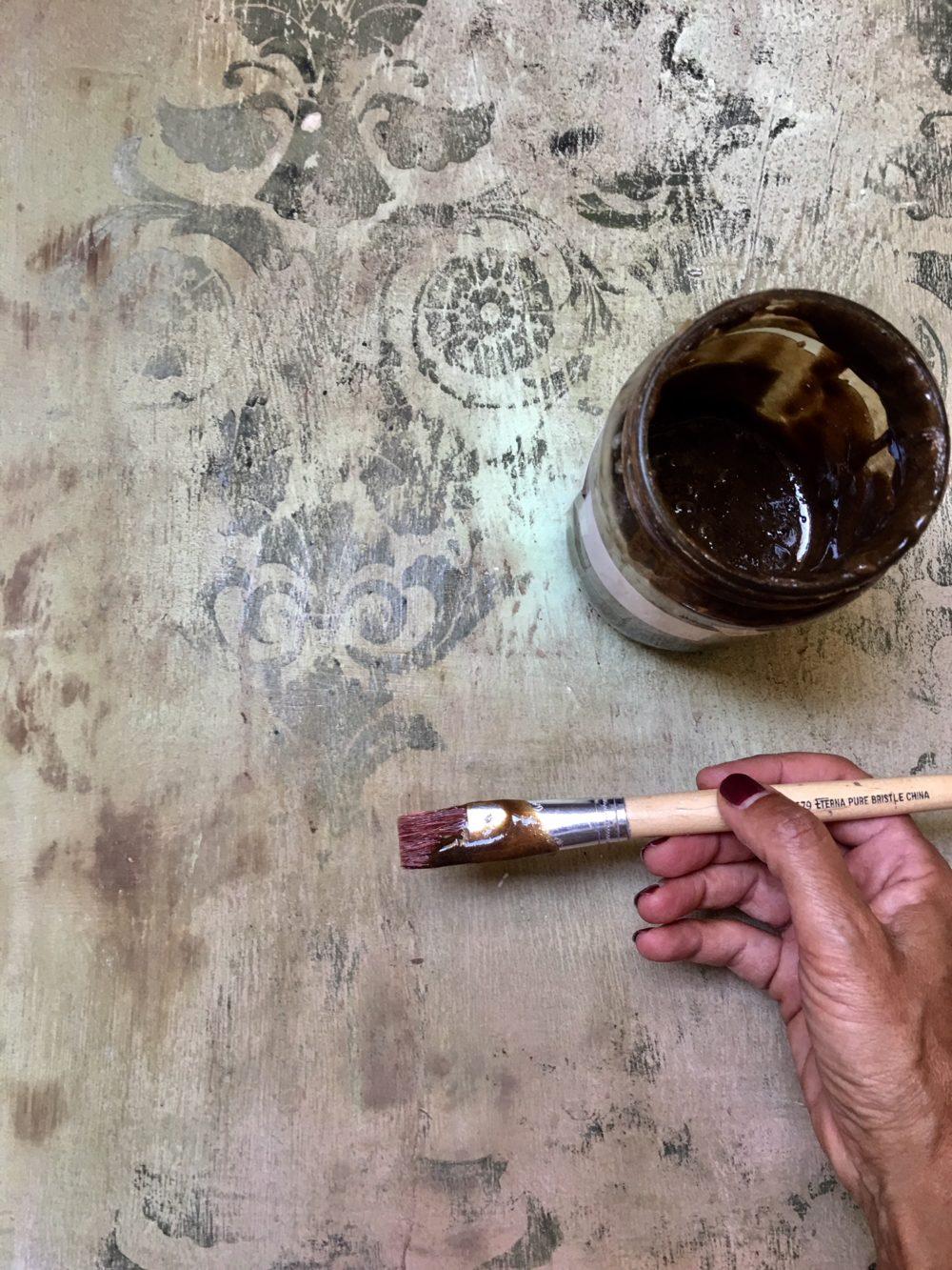 Pittura Effetto Intonaco Invecchiato patine antiche