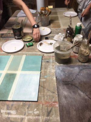 corso decorazione, corso dipingere le pareti, workshop sulla decorazione, imparare a dipingere i mobili, imparare a dipingere i muri, patine antiche, tecniche antiche